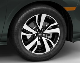 19-INCH ALLOY WHEELS