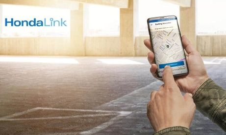 Connect with HondaLink