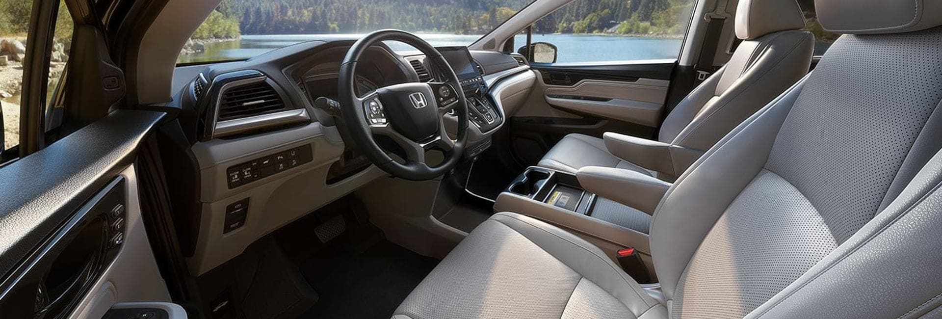 Honda Odyssey Interior Vehicle Features