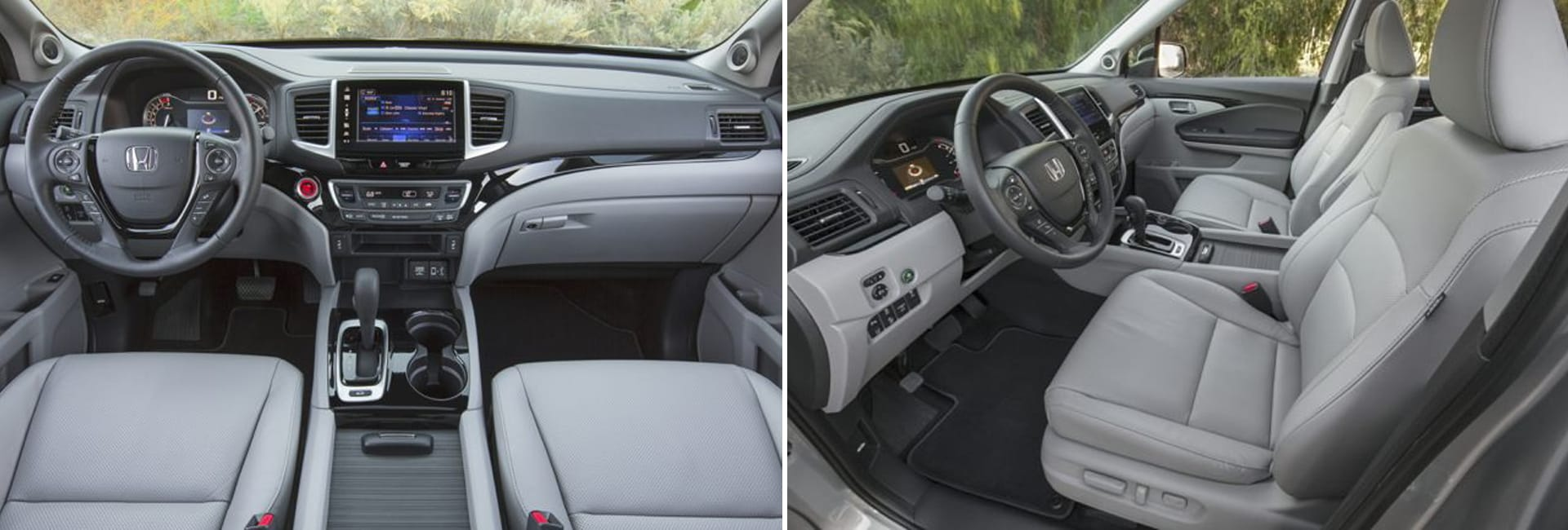 Honda Ridgeline Interior Vehicle Features