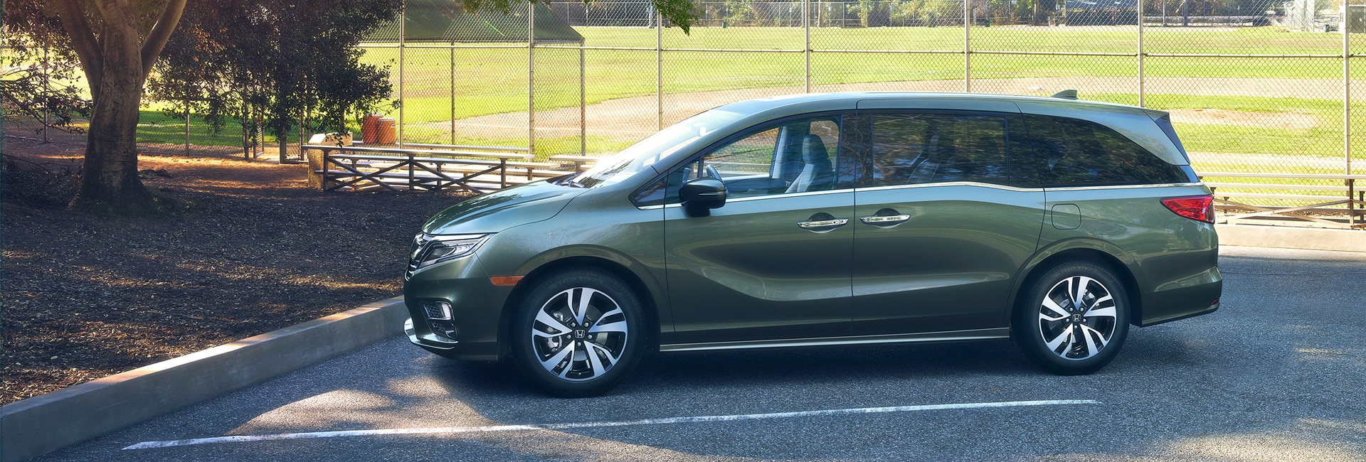 Honda Odyssey Exterior Vehicle Features