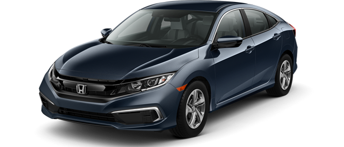 2019 Honda Civic LX 36 monthly lease payments of $159 or 2019 Honda Civic LX 36 monthly lease payments of $209