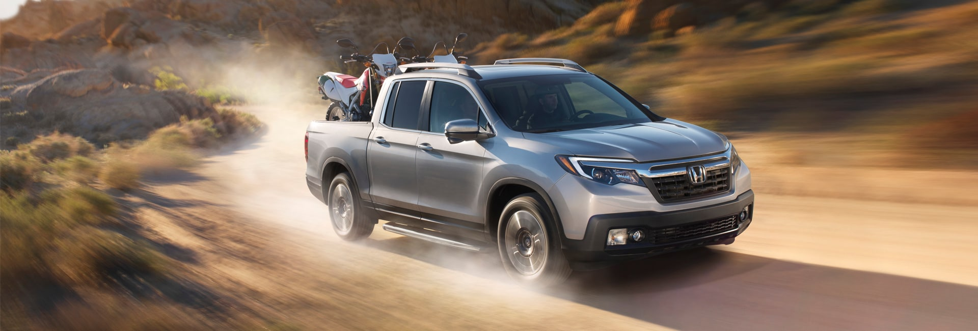 Honda Ridgeline Exterior Vehicle Features