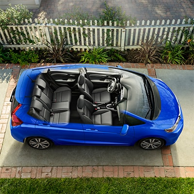 Honda Fit Interior and Exterior Vehicle Features