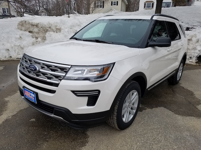 New 2018 Ford Explorer XLT XLT 4WD Livermore Falls
