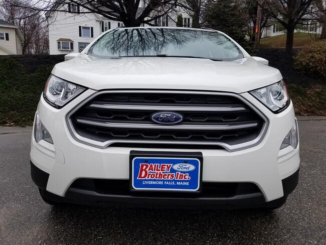 New 2018 Ford EcoSport SE SE 4WD Livermore Falls