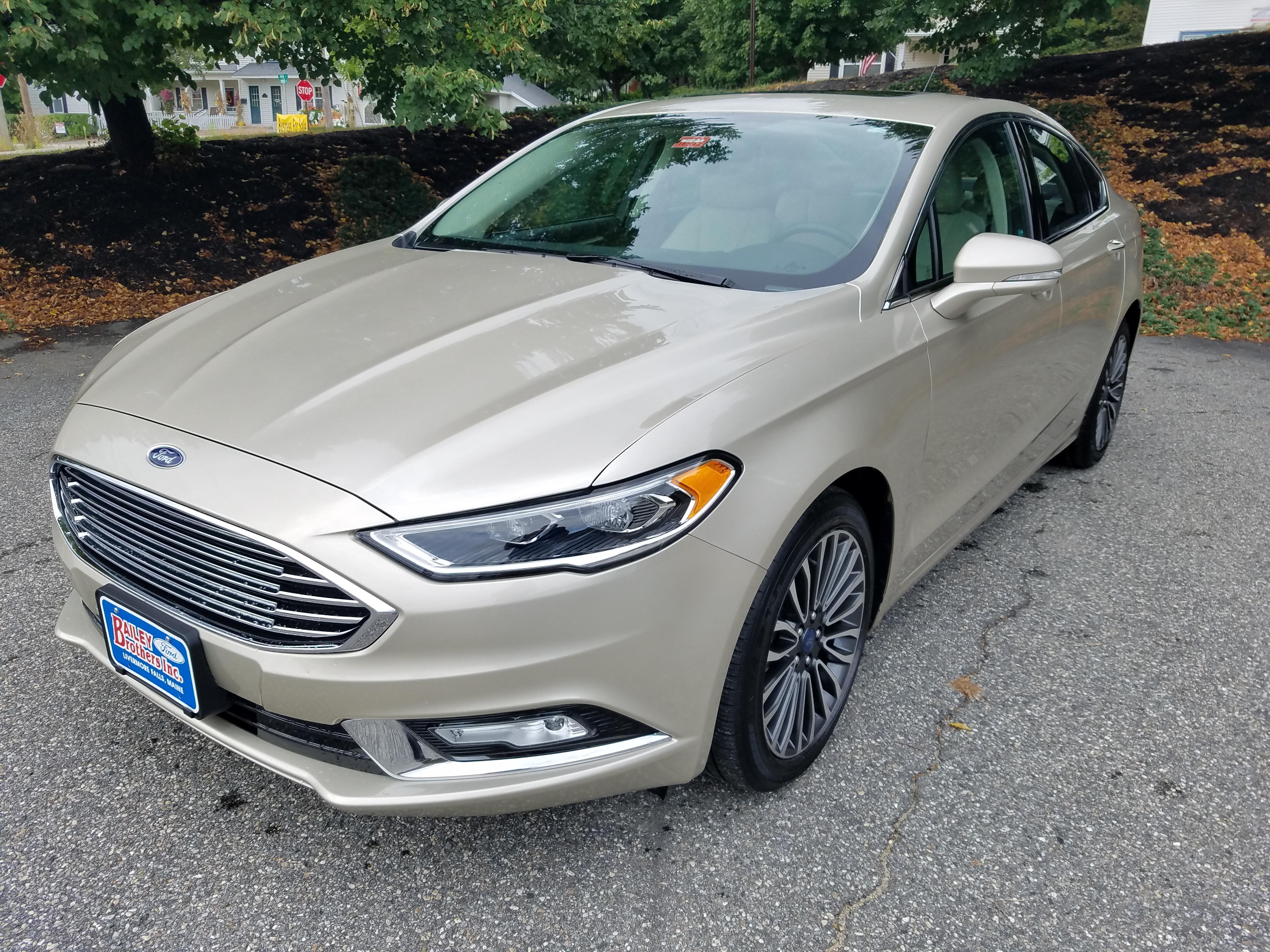 2018 Ford Fusion 4WD Titanium