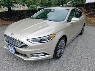2018 Ford Fusion Titanium 4WD  Titanium