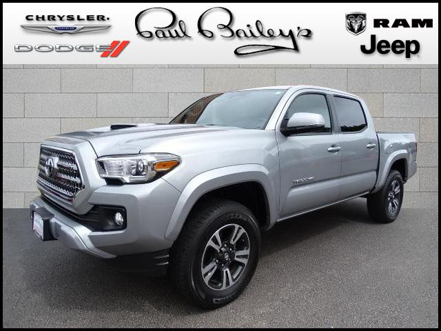 2016 Toyota Tacoma 4WD Double Cab V6 AT TRD Sport Truck Double Cab