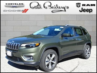 New Chrysler Jeep Dodge Ram models 2019 Jeep Cherokee LIMITED 4X4 Sport Utility for sale in North Kingstown, RI
