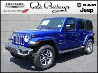 New Chrysler Jeep Dodge Ram models 2018 Jeep Wrangler UNLIMITED SAHARA 4X4 Sport Utility for sale in North Kingstown, RI