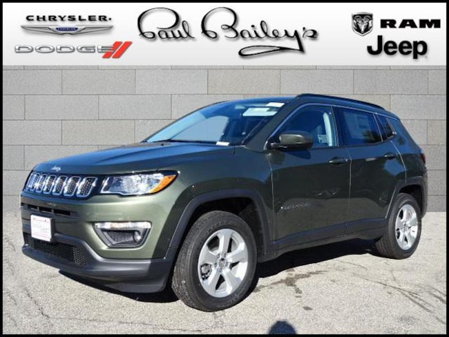 New 2019 Jeep Compass LATITUDE 4X4 Sport Utility near Warwick RI