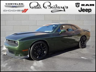 New Chrysler Jeep Dodge Ram models 2019 Dodge Challenger R/T SCAT PACK Coupe 2C3CDZFJ3KH587528 for sale in North Kingstown, RI