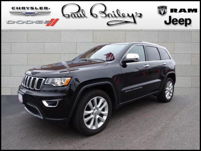 Used 2017 Jeep Grand Cherokee Limited 4x4 For Sale In North