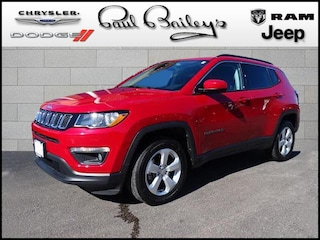 Used Vehicles for sale 2018 Jeep Compass Latitude 4x4 SUV 3C4NJDBB3JT480841 in North Kingstown, RI
