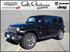 2019 Jeep Wrangler UNLIMITED SAHARA 4X4 Sport Utility 1C4HJXEN5KW504346