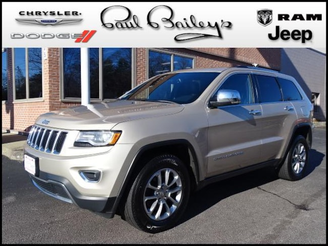 Used 2015 Jeep Grand Cherokee 4WD  Limited SUV North Kinigstown