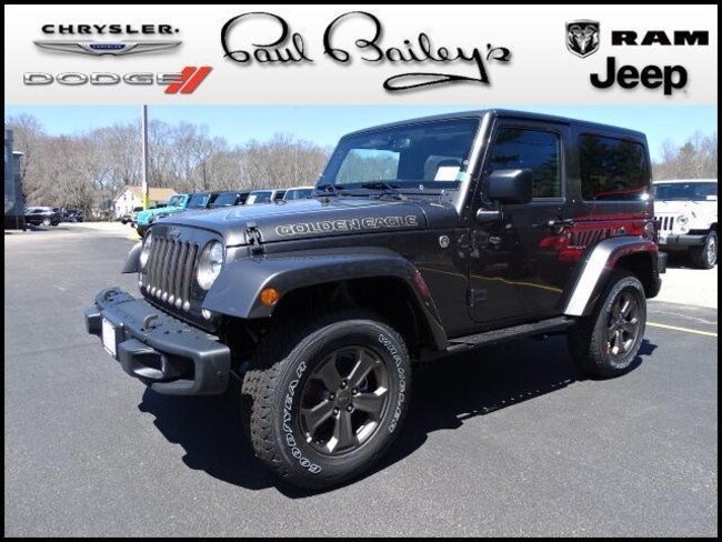 New 2018 Jeep Wrangler JK GOLDEN EAGLE 4X4 Sport Utility North Kinigstown