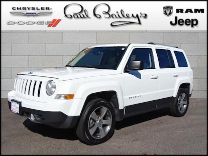 Jeep Patriot For Sale >> Used 2016 Jeep Patriot 4wd High Altitude Edition For Sale In North Kingstown Ri Stock 17r274b