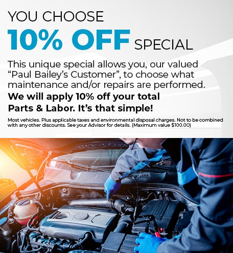 YOU CHOOSE 10% OFF SPECIAL
