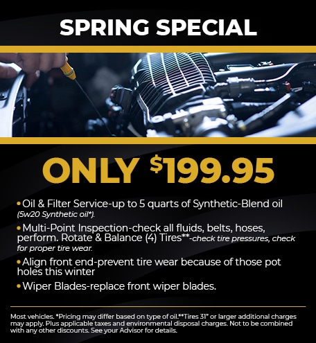 SPRING SPECIAL ONLY $199.95