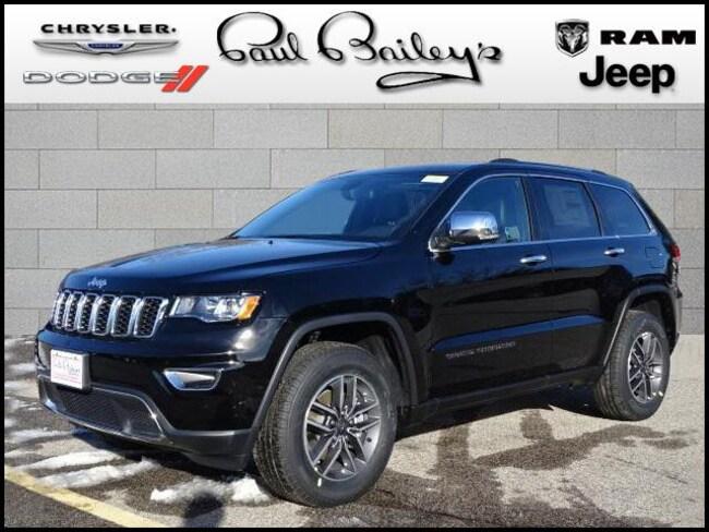 New 2019 Jeep Grand Cherokee LIMITED 4X4 Sport Utility near Warwick RI