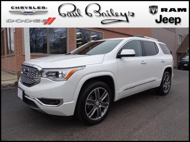 Used 2017 GMC Acadia AWD  Denali SUV North Kinigstown