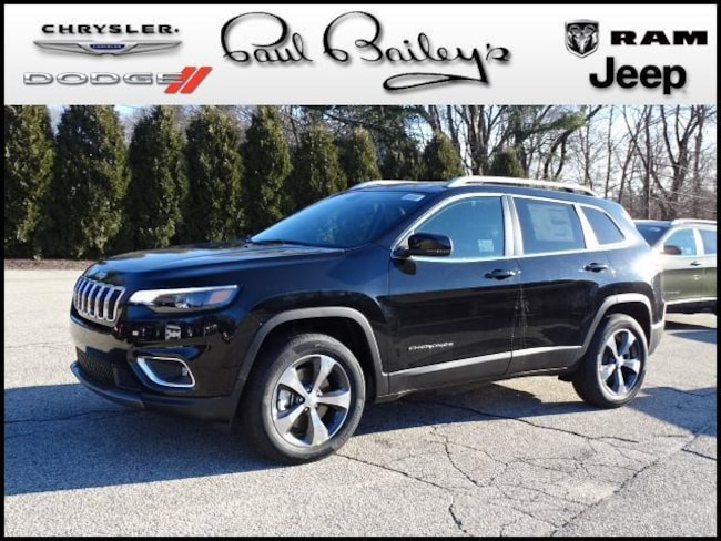 New 2019 Jeep Cherokee LIMITED 4X4 Sport Utility North Kinigstown