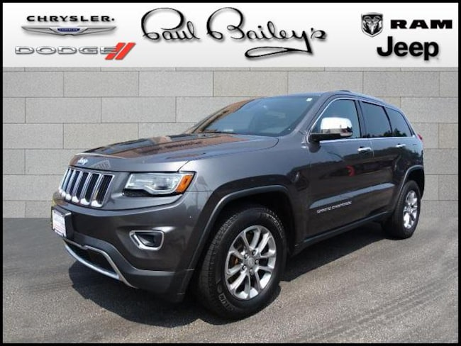 Used 2014 Jeep Grand Cherokee 4WD  Limited SUV near Warwick RI