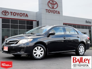 2012 Toyota Corolla CE Enhanced Convenience Package Sedan