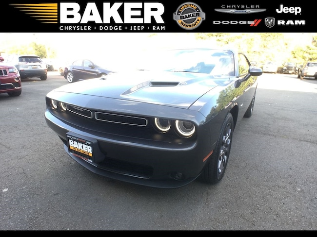 New 2018 Dodge Challenger GT ALL-WHEEL DRIVE Coupe in Princeton, NJ