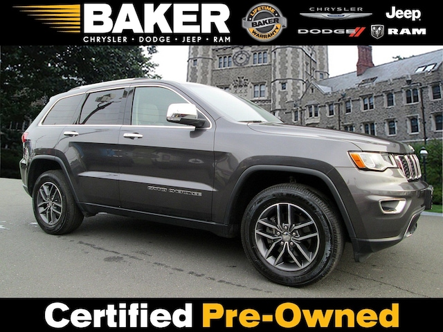 Used 2017 Jeep Grand Cherokee Limited For Sale In Princeton Nj