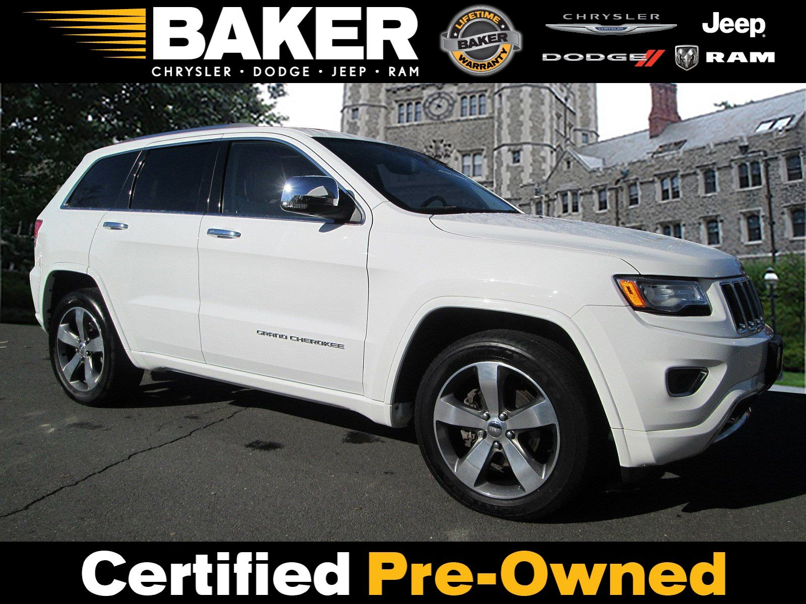 Used 2015 Jeep Grand Cherokee Overland For Sale In Princeton Nj