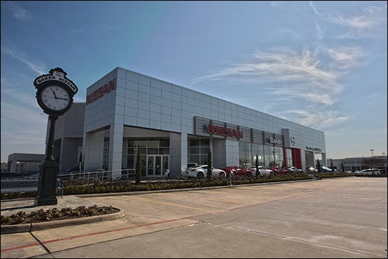 new and used nissan dealership in houston tx baker autos post. Black Bedroom Furniture Sets. Home Design Ideas