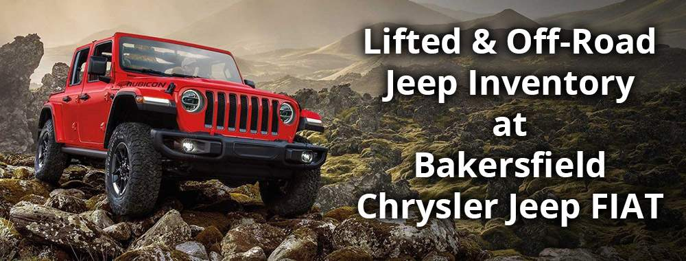 Lifted and Off-Road Jeep Inventory