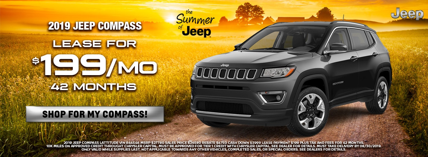 New 2019-18 Chrysler, Jeep, FIAT Vehicles in Bakersfield