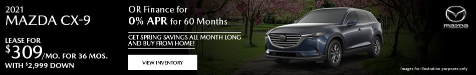 May 2021 CX-9 Special