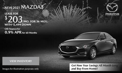 January 2021 Mazda3 Special