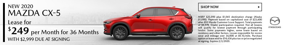 January 2020 CX-5 Special