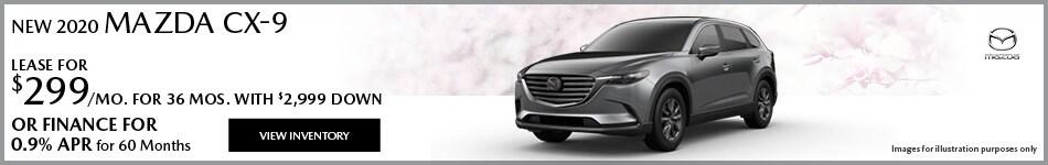 April 2020 Mazda CX-9