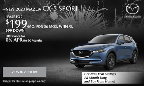 January 2020 CX-5 Sport Special