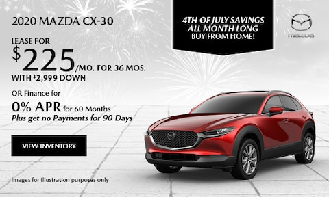 July 2020 CX-30 Special
