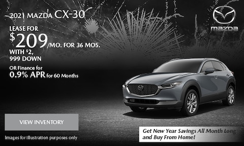 January 2021 CX-30 Special