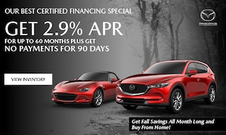October 2020 CPO Low Financing Special