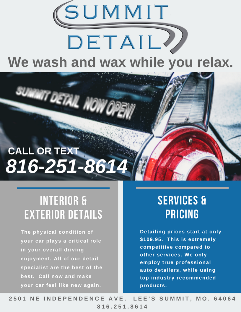 Kansas City S Newest Professional Auto Detailing Company Now Open