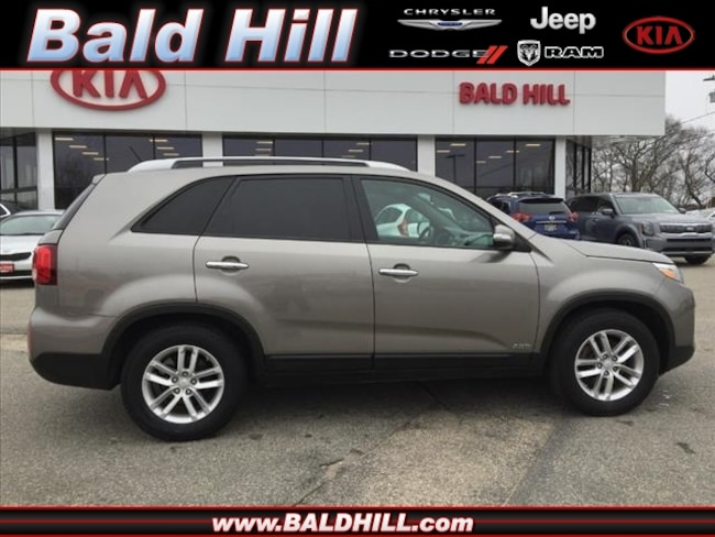 Certified pre-owned 2014 Kia Sorento LX SUV in Warwick