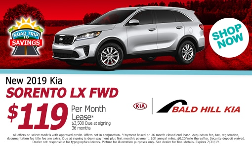 Kia Lease Specials RI | Bald Hill Kia