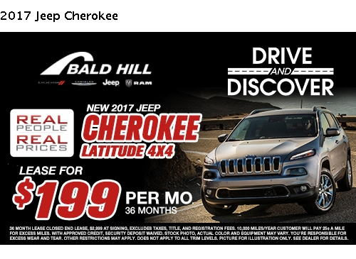 New Vehicle Specials | Bald Hill Automotive Group