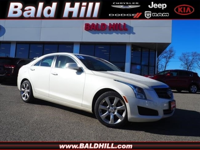 2013 CADILLAC ATS 2.0L Turbo Luxury AWD Sedan