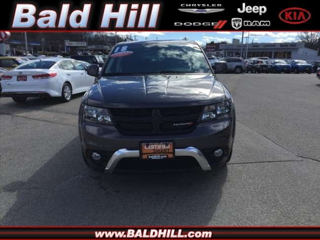 Certified Used 2018 Dodge Journey Crossroad SUV Shiftable Automatic 3C4PDDGG7JT387437 in Warwick